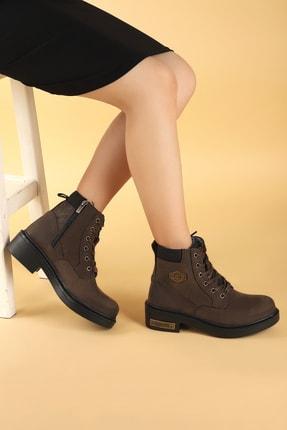 Scooter Kadın Kahverengi  Bot Ayakkabı
