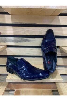 Pierre Cardin Erkek Lacivert Rugan Deri Ayakkabı