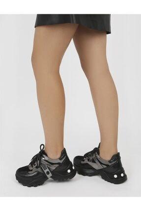 İlvi Kadın Siyah Spor Ayakkabı