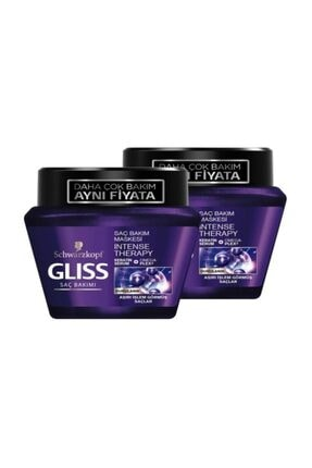 Gliss 300ml Intense Therapy Maske * 2 Adet