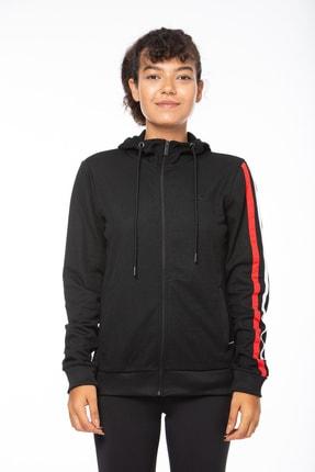 Lotto Sweatshirt Kadın Siyah-potter Sweat Fz Hd Pl W-r7467