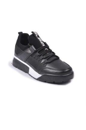 Slazenger Zeber Siyah Beyaz Unisex Spor Ayakkabı