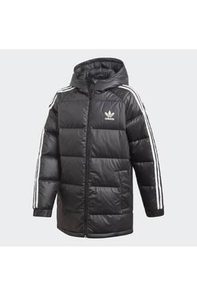 Adidas Unisex Çocuk Siyah Down Jacket Mont