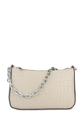 Housebags Kadın  Krem Baguette Çanta 192