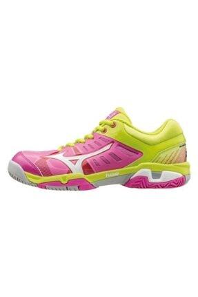 Mizuno Unisex Pembe Tenis Ayakkabısı
