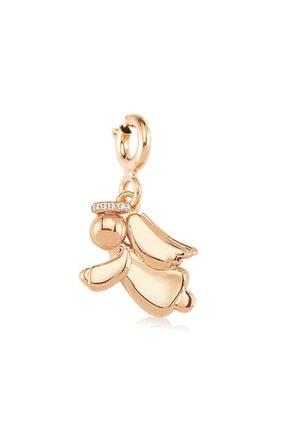 Valori Jewels Melek Şansı Rose Gümüş Charm