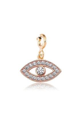 Valori Jewels Nazar Gözü Rose Gümüş Charm