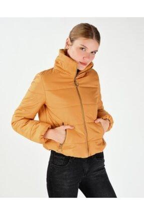Vision Kadın Sarı Şişme Mont