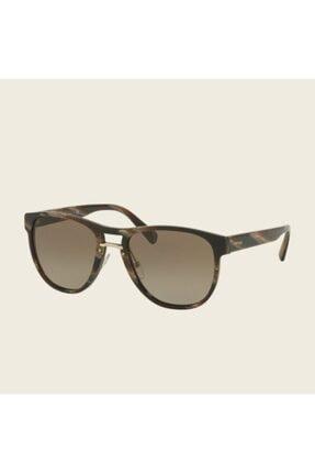 Prada Unisex Kahverengi Pr09us Gözlük
