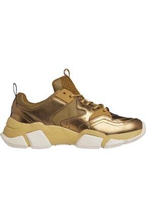 Kadın Altın Renk Sneaker Metallıc Tommy Chunky FW0FW05228