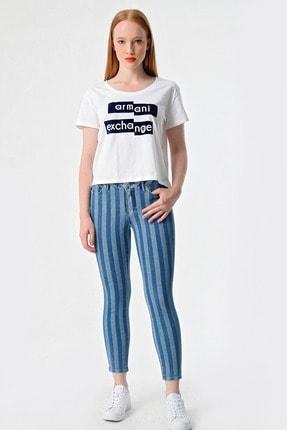 Armani Kadın Lacivert Jeans