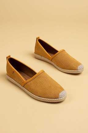 Deery Kadın Sarı Espadril Ayakkabı