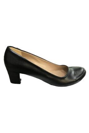 Kadın Siyah Klasik Topuklu Ayakkabı klasik topuklu ayakkabı 000019
