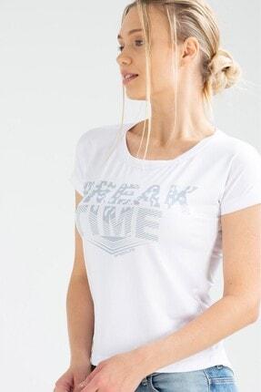 Speedlife Kadın Tişört Bream Beyaz