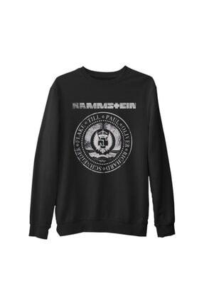 Lord Unisex Siyah Rammstein - Est 1994 Kalın Sweatshirt
