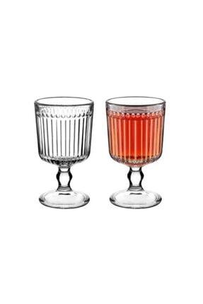 Kahve Yanı Ayaklı Su Bardağı udohe882