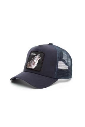 Goorin Bros Unisex Wolf Lacivert Şapka 101-6099