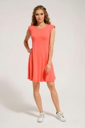 Batik Kadın Mercen Düz Casual Elbise Y42830