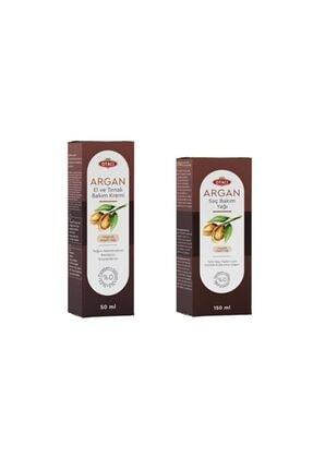 Otacı - Argan Saç Bakım Yağı 150 Ml + Argan El&tırnak Bakım Kremi 50 Ml