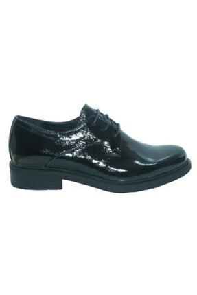 Greyder 65621 Siyah Rugan Deri Klasık Casual Kadın Ayakkabı