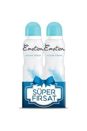 Emotion Ocean Fresh 2 Adet 150 ml Deodorant