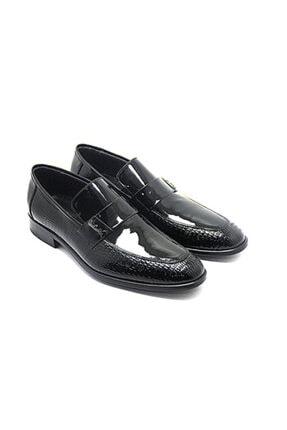 Pierre Cardin Erkek Siyah Rugan Klasik Ayakkabı 63268