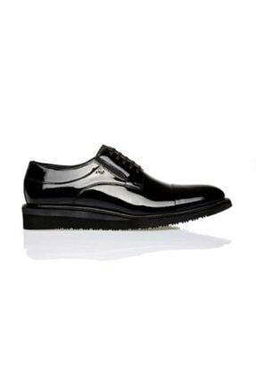Pierre Cardin Erkek Siyah Rugan Ayakkabı