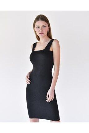 Vision Kadın Kalın Askılı Elbise