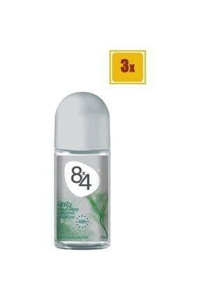 8x4 50 Ml Unity Kadın Roll On 3'lü Set