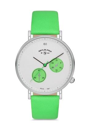Aqua Di Polo Unisex Yeşil Kol Saati Apwa037101