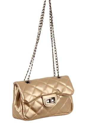 Luwwe Bag's Kadın Altın Omuz Çantası