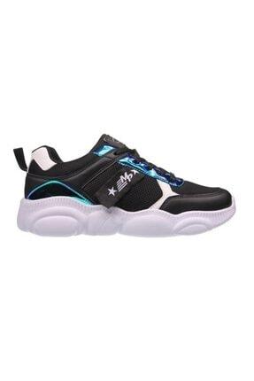 MP Kadın Siyah Beyaz Bağcıklı Spor Ayakkabı