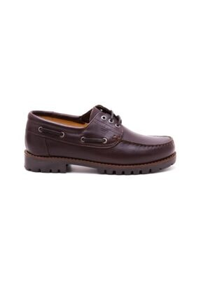 Greyder Kadın Kahverengi Deri Ayakkabı 60460