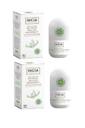 Incia Beyazlatıcı Etkili Roll On 50 ml - Koltuk Altı Kararmalarına Karşı X2 Adet