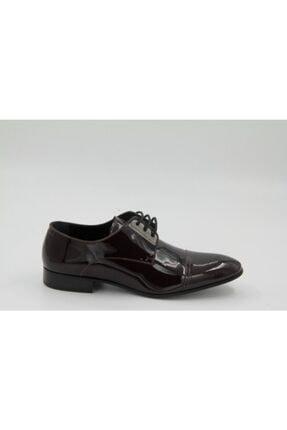 Cacharel Erkek Bordo Rugan Kösele Klasik Ayakkabı