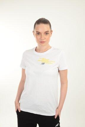 New Balance Kadın Beyaz Women's Tee Tişört
