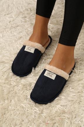 Ayakkabı Modası Kadın Lacivert Ev Terliği