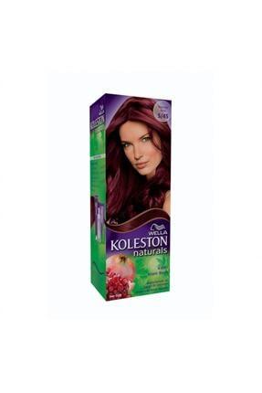 Koleston 5.45 Koyu Nar Kızılı Naturals Kit  Saç Boyası