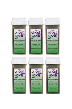 Vi-Vet Roll-on Sir Ağda Çay Ağaci Yağı 100 Ml 6'lı Set