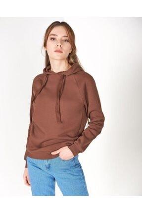 Vision Kadın Kapüşonlu Sweatshirt