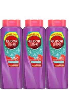 Elidor Şampuan Dayanıklı Saçlar 650 ml X3 Set