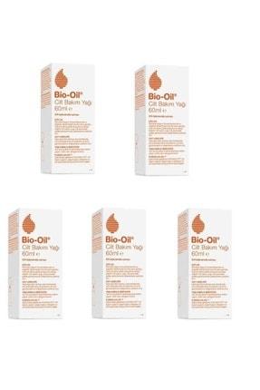 Bio Oil E Vitamini İçeren Çatlak Bakım Yağı 60 ml 5 Adet