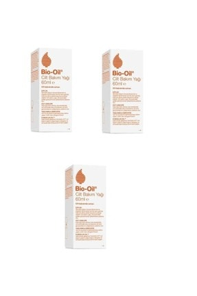 Bio Oil Yaşlanma Karşıtı Bakım Yağı 60 ml 3 Adet