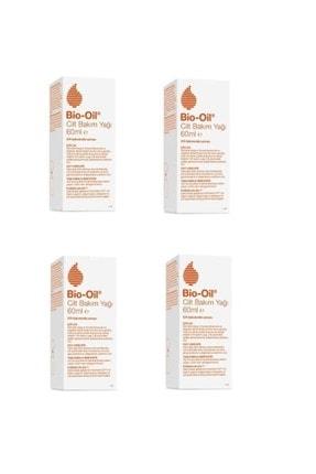 Bio Oil Cilt Lekelerine Karşı Bakım Yağı 60 ml 4 Adet