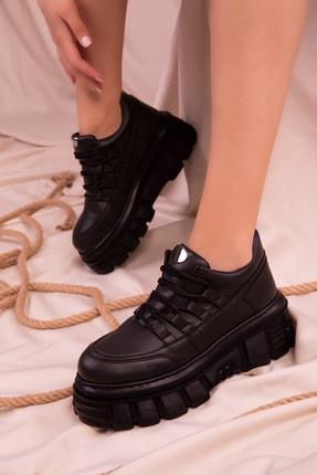 SOHO Siyah Kadın Sneaker 15594