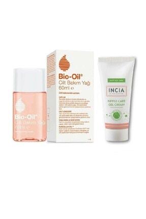 Bio Oil E Vitamini Içeren Göğüs Ucu Bakım Kremi 30 ml Çatlak Karşıtı & Nemlendirici Cilt Bakım Yağı 60ml