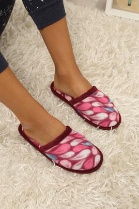 Ayakkabı Modası Kadın Mor Ev Terliği