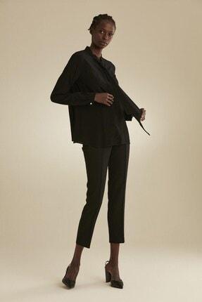 Tuğba Kadın Siyah Gömlek