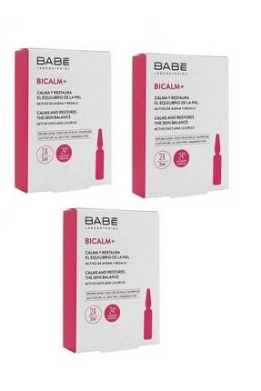 Babe Bicalm+ Kızarıklığa Eğilimli Ciltler Için Yatıştırıcı Konsantre Bakım 6x2 ml