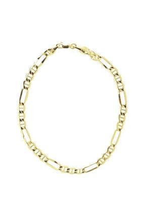 Myra Gold Kadın Gold Sıra Halkalı Zincir Altın Bileklik